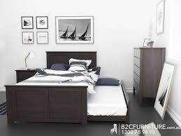 Modern Bedroom Furniture Melbourne Dandenong Trundle King Single Kids Beds B2c Furniture