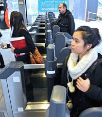 Compass Vending Machine Vancouver Classy Riders Test Out New TransLink Compass Card