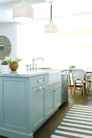 farmhouse rug ideas marvelous striped kitchen runner with magnificent blue style rugs far