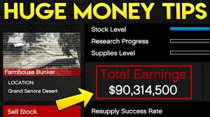 Gta Biker Business Chart Gta Online 5 Money Tips For Bunkers How To Make Huge Amounts Of Money