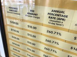 Advance America Rate Chart Under Trump Appointee Consumer Protection Agency Seen
