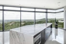 Neolith Stone Design Neolith Calacatta Polished Surrounded By Breathtaking Green
