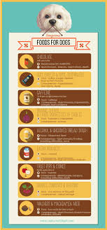 Inforgraphic Dangerous Foods For Dogs
