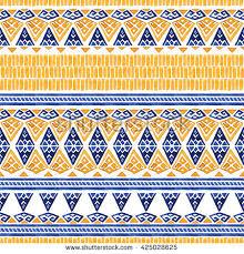 Bohemian Pattern Cool Seamless Watercolor Bohemian Pattern Stock Illustration 48