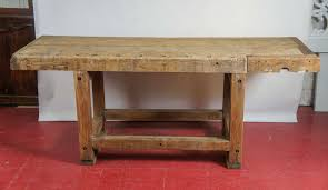 Industrial Workbench Kitchen Island Table At Stdibs Work Bench Table: Full  Size ...