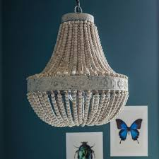 beaded chandeliers graham green