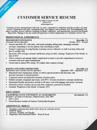 Resume Templates For Customer Service 100 Images 30 Customer