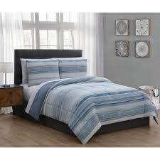 laken 5 piece blue twin bed in a bag