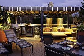 roof deck furniture. 40 Unique Rooftop Deck Ideas To Relax And Entertain In Style : Roof Furniture