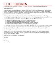 Cover Letter Graduate Teaching Assistant Resume Cover Letter For