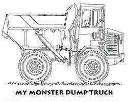 Coloring Pages Of Dump Trucks Dump Truck Coloring Pages Elegant
