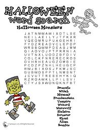 Halloween Word Puzzles - Woo! Jr. Kids Activities