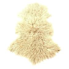 mongolian sheepskin rug nz oatmeal temple 7