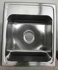Elkay Lr17200 18 Gauge Stainless Steel Single Bowl Top Mount Kitchen