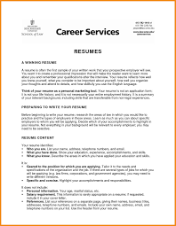Profile For Resume Art Resume Examples