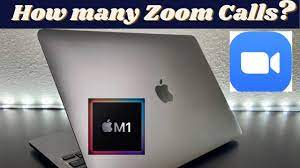 How Many Zoom Calls can the M1 MacBook Pro Last?!! - YouTube