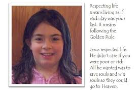 essay contest beads of st dominic winning respect life essay by kate wagner grade 3