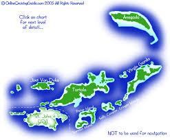 Bvi Navigation Charts Virgin Islands Cruising Guide Bvi British Virgin Islands