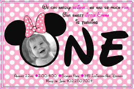 perfect minnie mouse 1st birthday invitations 25 with additional invitations birthday ideas with minnie mouse 1st birthday invitations