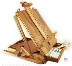 artist easels oil paints brushes