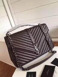 College Designer Bags Saint Laurent 392738 Classic Large College Monogram Bag