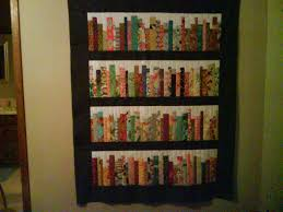 Bookshelf quilt by diannemc from the quilitngboard.com | Quilting ... & Bookshelf quilt by diannemc from the quilitngboard.com Adamdwight.com