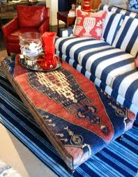 rug covered ottoman a few years ago i discovered these absolutely amazing ottomans that are upholstered