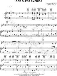 god bless the usa sheet music free