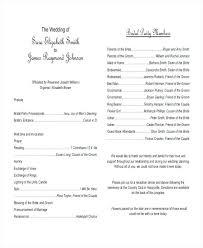 Wedding Ceremony Program Template Free Download Guide For Wedding Program Template Free Download Ceremony Monster