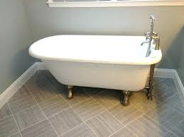 small bathroom with clawfoot tub and separate shower used in designs home improvement good lookin