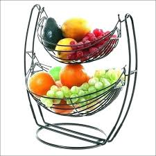 fruit tiered bowl next two tier banana hook basket 2 3 with wooden hanger