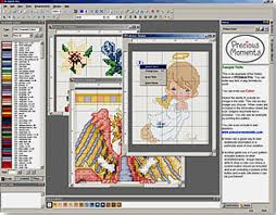 Free Cross Stitch Pattern Maker Custom Cross Stitch Pattern Maker Software Download