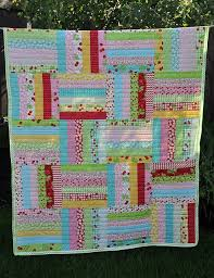 631 best Rail Fence & Quilts images on Pinterest | Blue, Close up ... & love this but with brighter colors Fast, easy quilt.and so cute! Could also  do this to throw pillows super easily Adamdwight.com