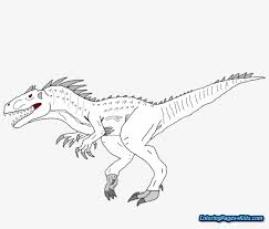 Free coloring pages printable to color kids drawing ideas for new jurassic world coloring pages to print. Jurassic World Indominus Rex Coloring Pages Jurassic World Free Transparent Png Download Pngkey