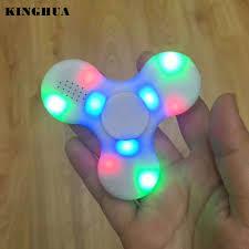 Fidget Spinner With Led Lights And Speaker Toys Hobbies Fidget Spinner With Bluetooth Speaker And Led