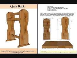 Quilt Rack - YouTube &  Adamdwight.com