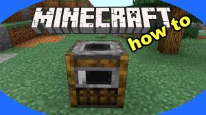 How To Craft And Use A Smoker In Minecraft Minecraft Smoker Tutorial Youtube