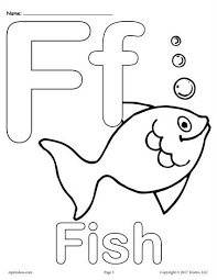 free printable uppercase and lowercase letter f coloring page letter f worksheets like this are perfect for toddlers preers and kindergartners and