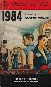 look what sci fi novels made amazon s list of books to in 1984 by george orwell