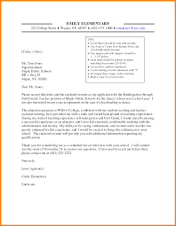 12 Teaching Cover Letter For New Teachers G Unitrecors