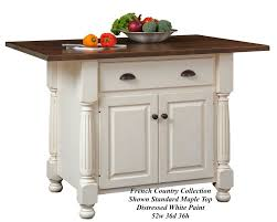 French Country Island Kitchen Kitchen Island Gallery Heritage Allwood Furniture