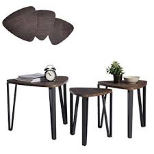 stacking coffee tables. Modren Tables Coffee Table Set Of 3 End Side Night Stand Nesting Corner  Stacking Telephone With Tables S