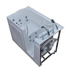 universal tubs hd series 53 in right drain quick fill walk in whirlpool bath