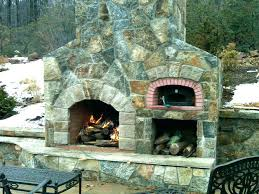 patio fireplace kit medium size of traditional backyard decoration with outdoor pizza oven kits and kitchen