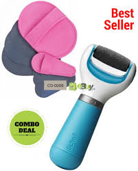 hair removal pads electronic foot file in stan
