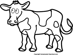 cow clipart black and white.  Black Fun And Free Clipart On Cow Black And White Library