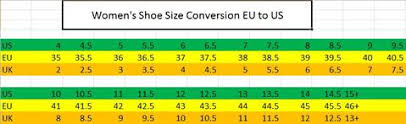 shoes size 36 in us size conversion charts hkm canada