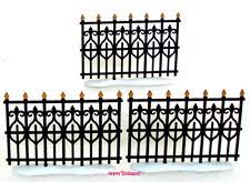 wrought iron fence victorian. 56 Victorian Wrought Iron Fence Extension Set Of 3 Retired 2001 New 52531 Wrought Iron Fence Victorian