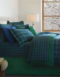 distinctly home blackwatch flannel duvet cover made in portugal hudson s bay
