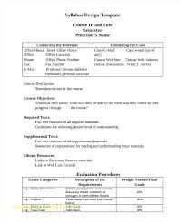 middle school art syllabus template. Top Result Create A Syllabus Template Awesome Sample 8 Free